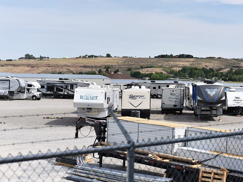 RV Storage at Cottonwood Self Storage